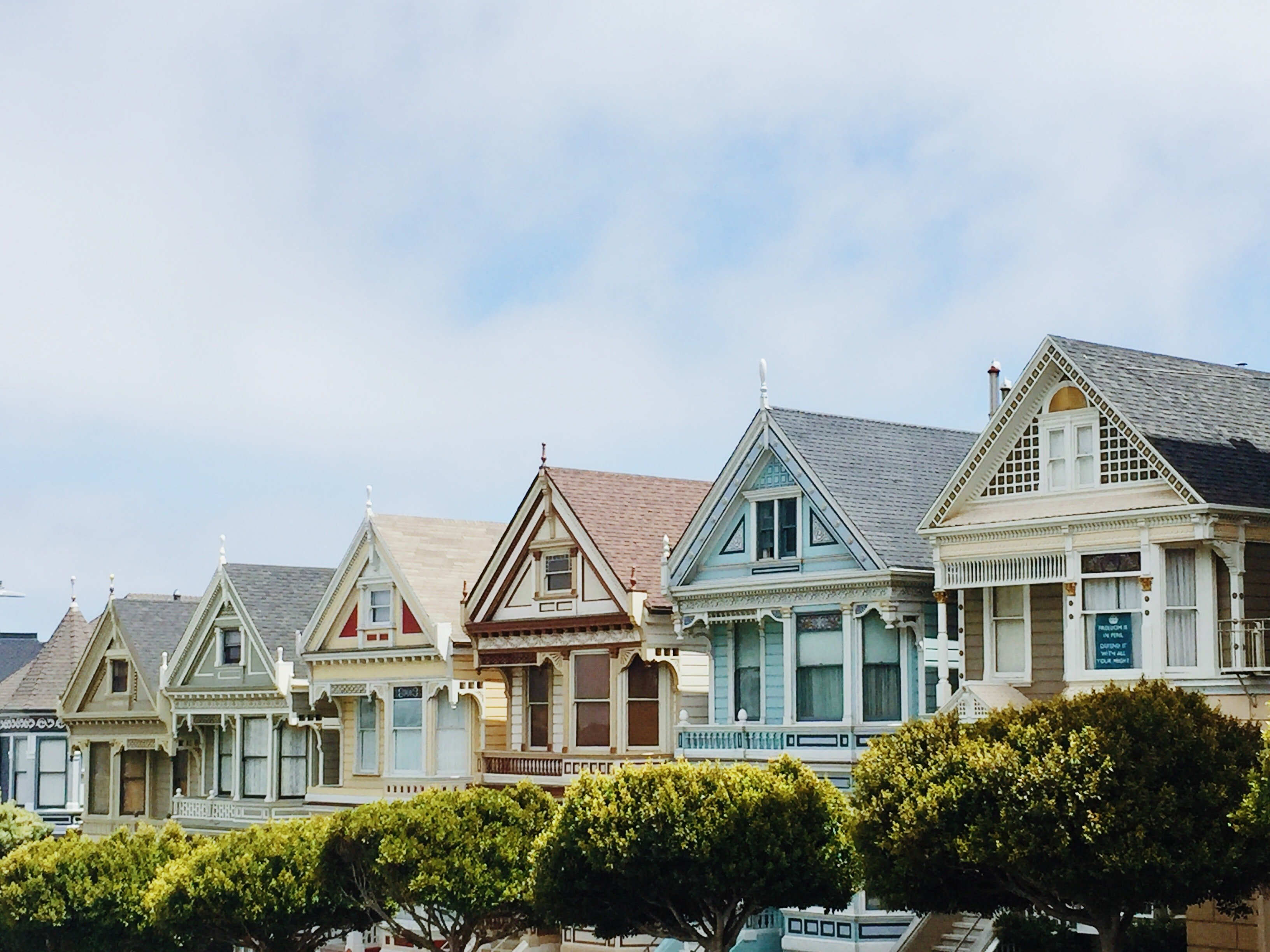 san fran colorful homes